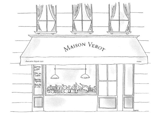 nouvelle adresse Maison Vérot