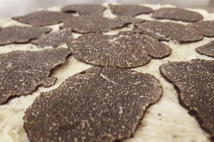 Les fromages à la truffe