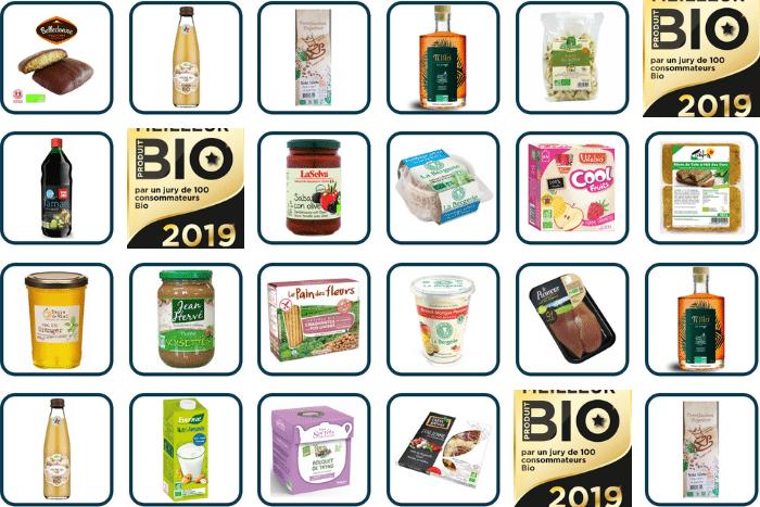 Meilleur Produit Bio 2019, les produits bio préférés des Français dans l'alimentaire