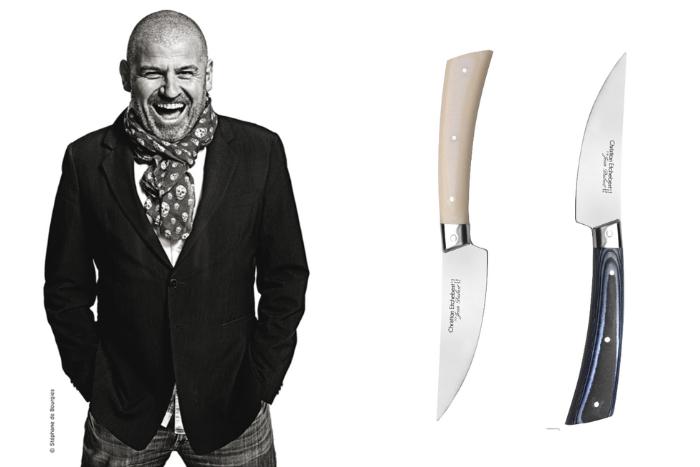 Les couteaux de Christian Etchebest