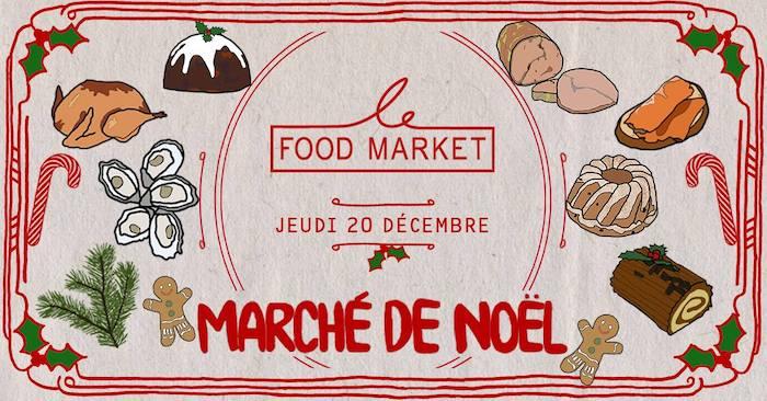 Frichti Food Market Noël 2018