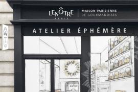 atelier éphémère Lenôtre