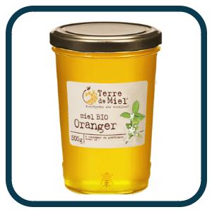 Miel Bio Oranger de Terre de Miel