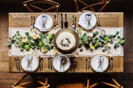 inspirations pour tables de fêtes