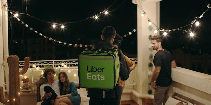 Livraison continue UberEats