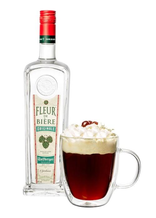 Forêt Noire cocktail de Stephen Martin