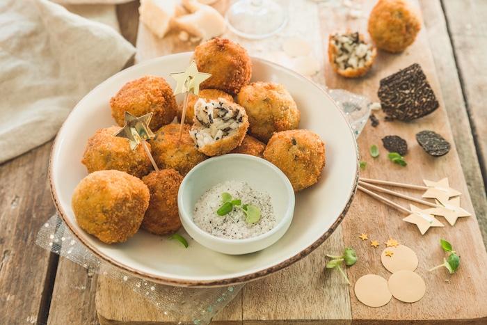 Arancini à la truffe, la recette italienne qui fait sensation