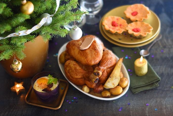 Votre dîner de Noël sans la corvée des courses