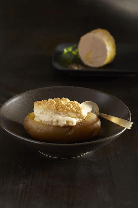 recette de Foie gras soufflé