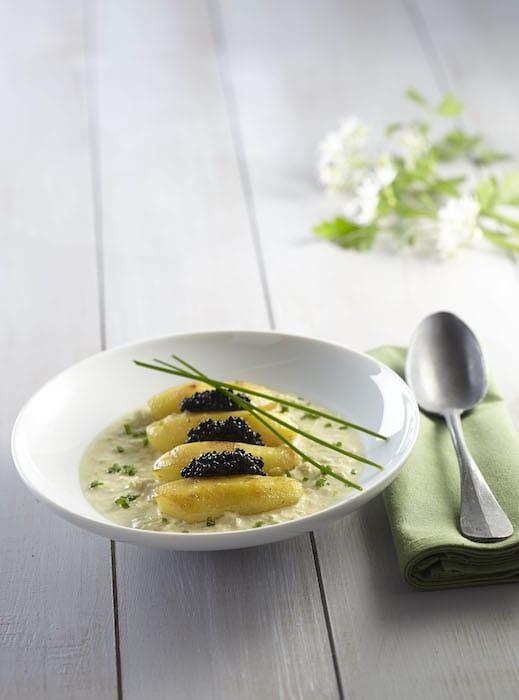 Ratte du Touquet au caviar