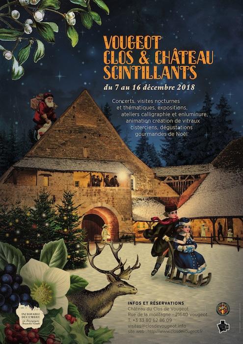 Noël au Clos de Vougeot