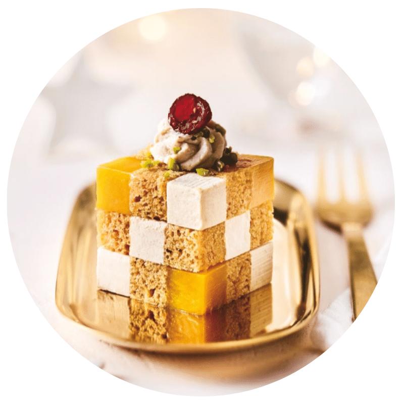 Cube au foie gras Picard