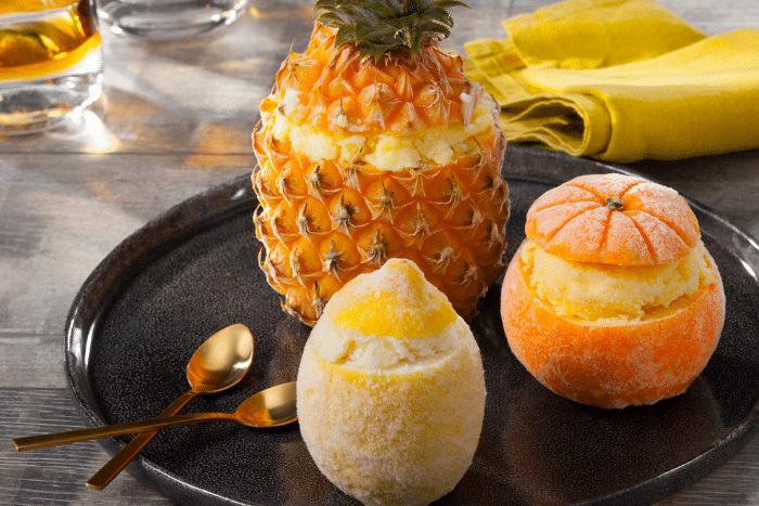 Fruits givrés, la touche fraîcheur des repas de fêtes