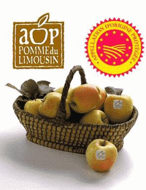 La pomme du Limousin