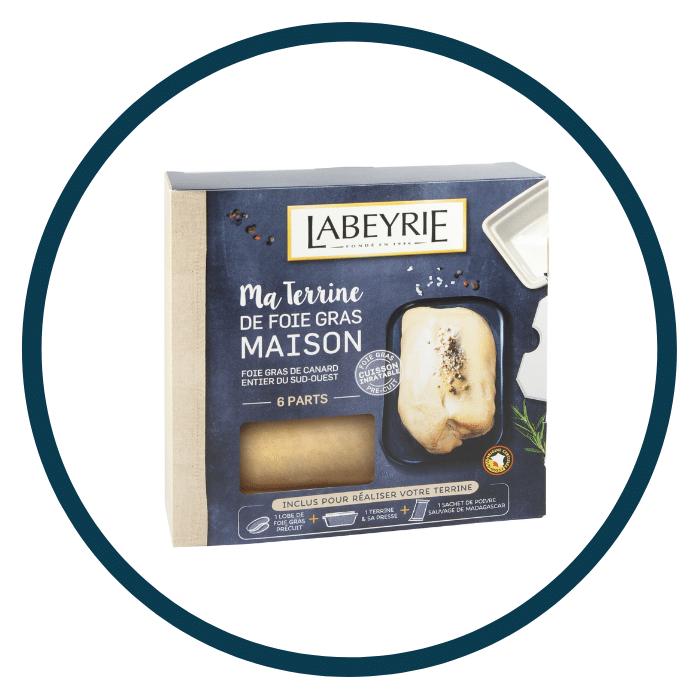 foie gras à cuisiner Labeyrie