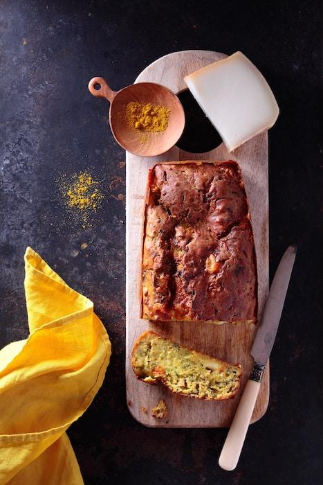 cake moelleux à la courgette