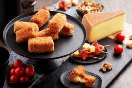recette de Croquettes de potimarron et raclette