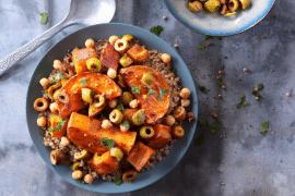 Couscous de quinoa aux olives
