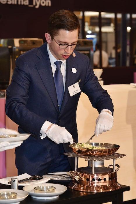 Benoît Brochard lauréat du Trophée du Maitre d'Hôtel