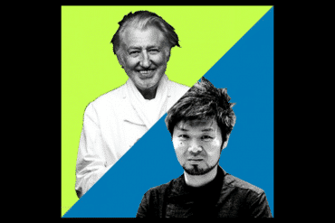 Pierre Gagnaire et Zaiyu Hasegawa