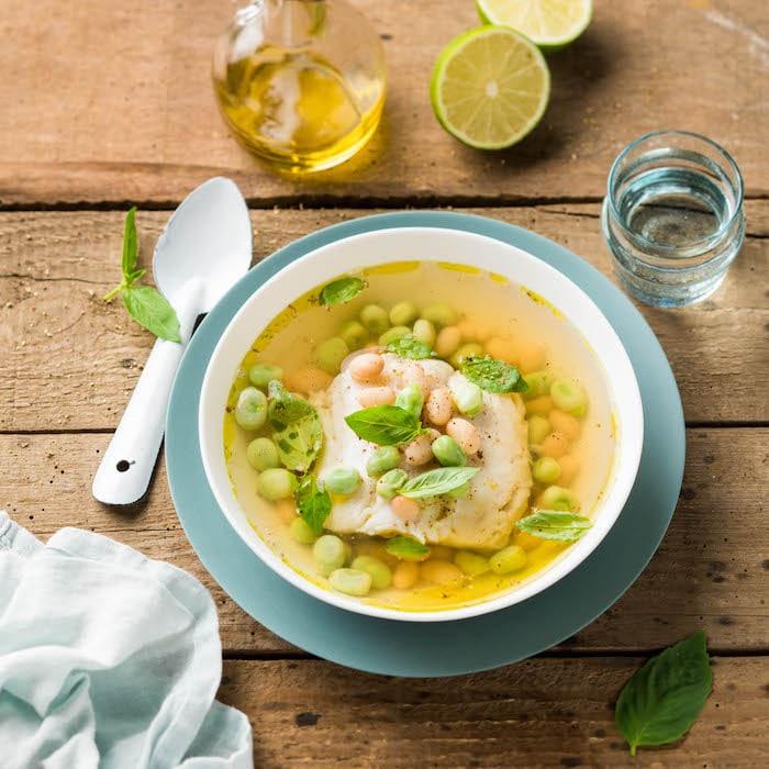 recette de merlu en bouillon