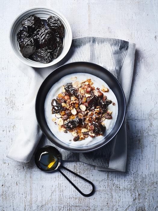 morning bowl aux pruneaux