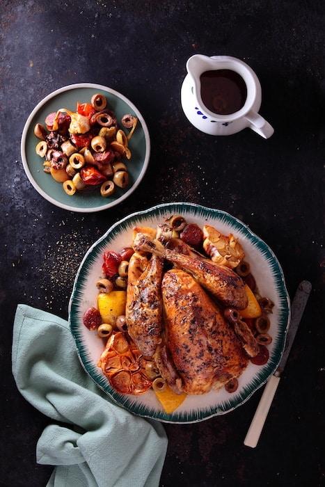 recette de poulet au chorizo
