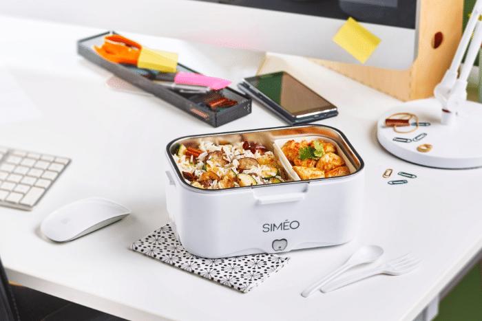 Popotte maison même au bureau avec la lunchbox chauffante !