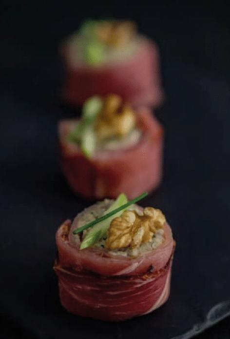 recette de makis de choucroute