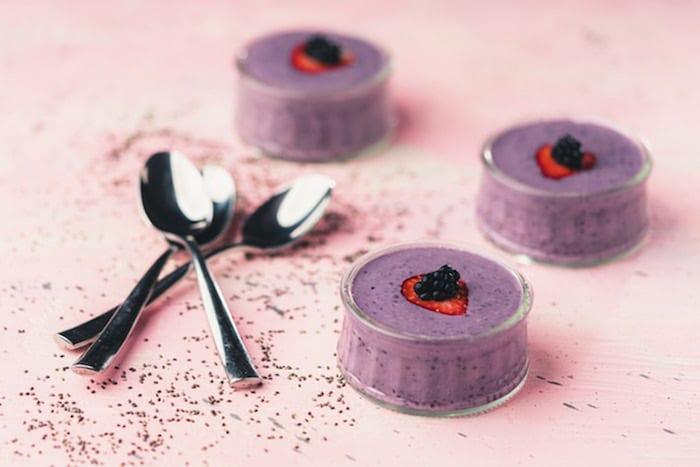 Chia pudding aux mûres