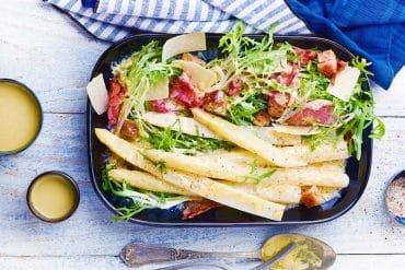 Salade d'asperges des Landes