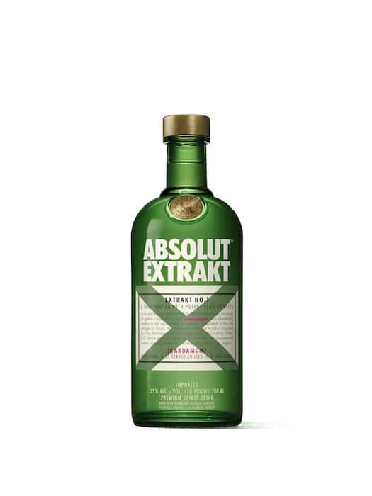 Absolut Extrakt à boire en shot