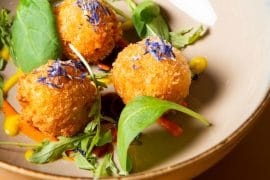Croquettes de patates douces