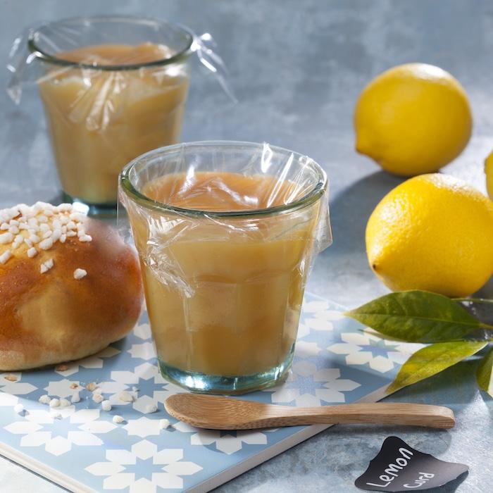 recette de Lemon curd maison