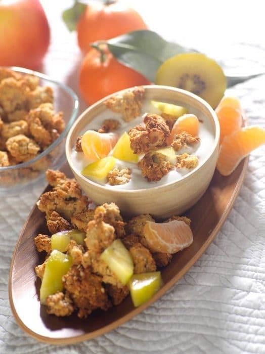 recette de Granola coco