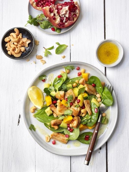 recette de Salade d'épinards