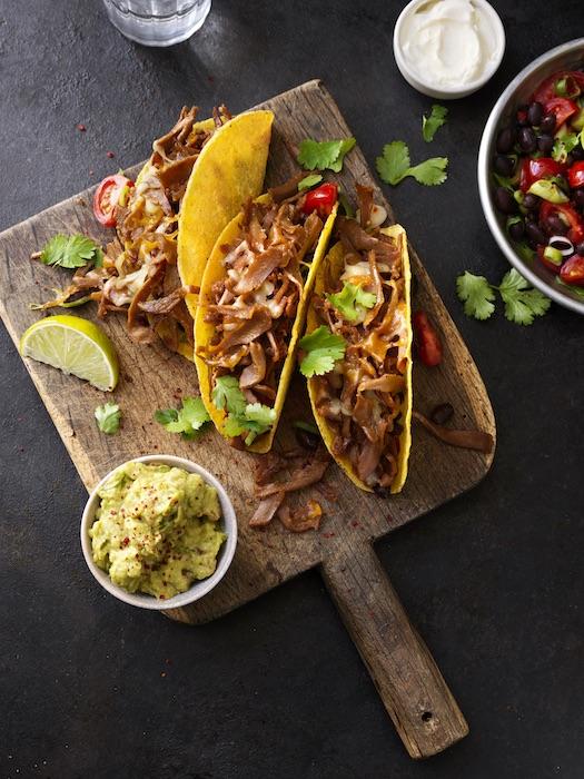 recette de Tacos veggies