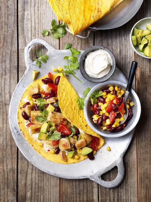 recette de Tortilla mexicaine