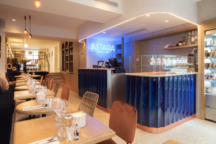 Astara ouvre son 1er restaurant-épicerie de la mer à Paris
