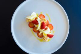 Douceur aux fraises