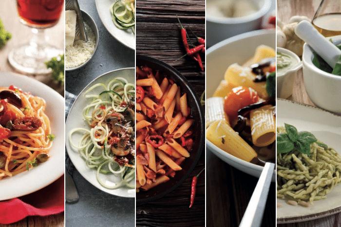De nouvelles merveilleuses sauces naturelles pour toutes les pâtes