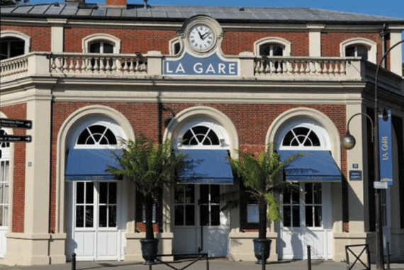 réouverture de La Gare
