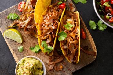 Tacos veggies