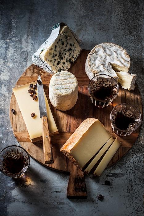 Cafés et fromages
