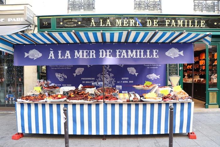 A La Mère de Famille poisson d'avril
