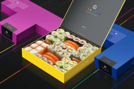 Sushi Shop x Tetris