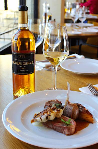 Agneau en 3 façons recette Restaurant La Chapelle