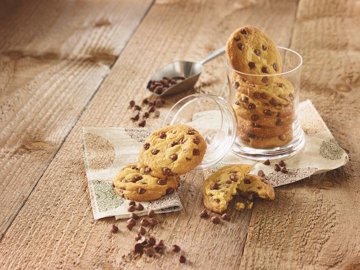 recette de cookies aux pépites de chocolat