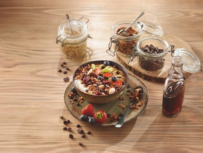 recette de granola aux fruits