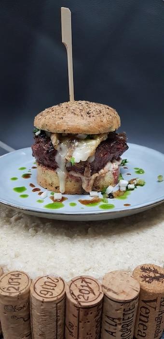 Burger New Iode de Xavier Yvernogeau
